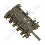 Hotpoint G504E2GB Cooker Energy Regulator-Switch pack. 6 position
