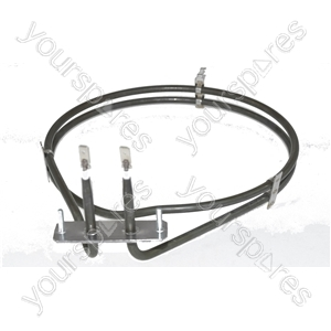 Hygena Replacement Fan Oven Cooker Heating Element (2500w) (2 Turns)