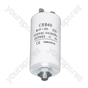 Moffat 8UF Microfarad Appliance Motor Start Run Capacitor