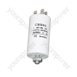 Panasonic 7UF Microfarad Appliance Motor Start Run Capacitor