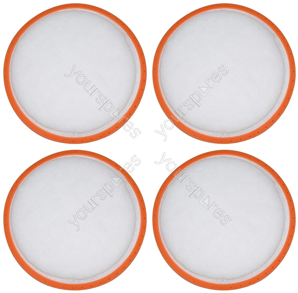 4 x Vax Vacuum Cleaner Pre Motor Filter 178mm for Vax by Ufixt