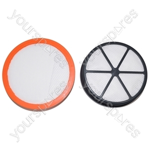 Vax Vacuum Cleaner Type 90 Pre and Post Motor Filter Set