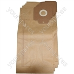 Karcher CV30 Vacuum Cleaner Paper Dust Bags 5 pack