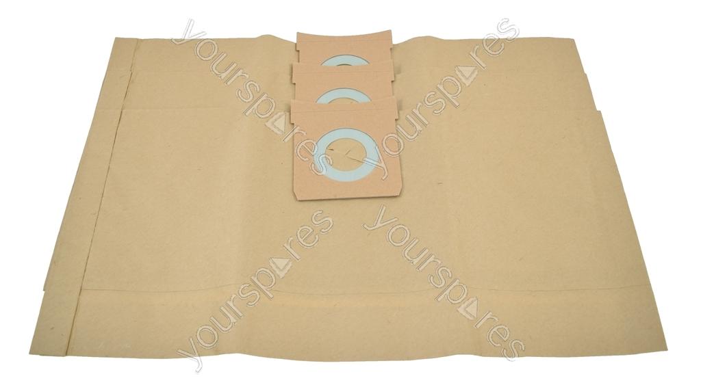 Goblin Wet /& Dry Vacuum Cleaner Paper Dust Bags