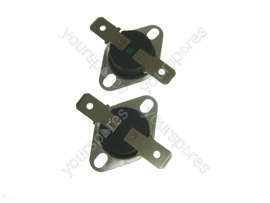 HOTPOINT INDESIT CREDA ARISTON TUMBLE DRYER CUT OUT THERMOSTAT KIT GENUINE PART