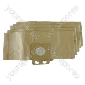 Nilfisk Backuum Vacuum Cleaner Paper Dust Bags