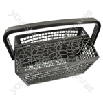 Universal Dishwasher Cutlery Basket Deluxe 2-in-1 Full Size and Detachable Slimline