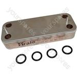 Ideal Logic Plus Combi 24 Compatible 12 Plate Boiler Heat Exchanger