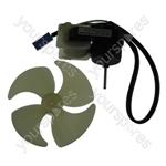 Hotpoint FF175BG Fan-motor & Blade - Spade Terminations