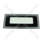 Hotpoint HAE60G Outer Door Glass Top Graphite