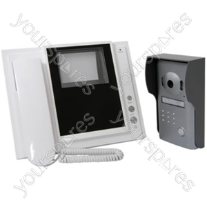 2 Wire video phone system